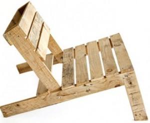 Pallet DIY Chair