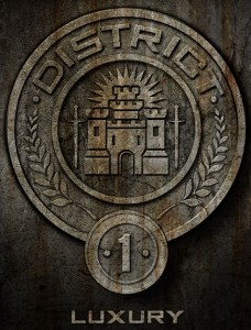 The hunger games district 1